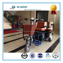 electric tricycle in parts export to sale