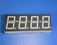 "Rohs white 0.56"" 7-segment led numeric display screen"