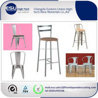 RAL color non-toxic metal furniture chair spray powder coating paint