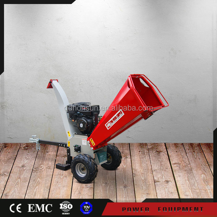 Europe Type High Quality 13HP Honda, B&S, Kohler, Loncin, Lifan gasoline engine shredder wood chipper