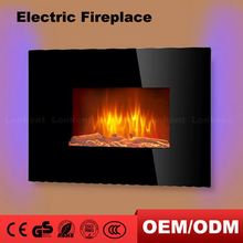 China Manufacturer Micro Sandstone Marble Corner Electric Fireplace