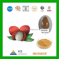 Professinal Manufacturer supply 100% Natural Lychee seed extract