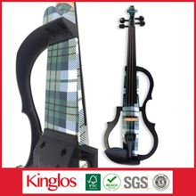 Music Instrument Best Selling Black Violin With Best Colour (SDDS-1606-049)