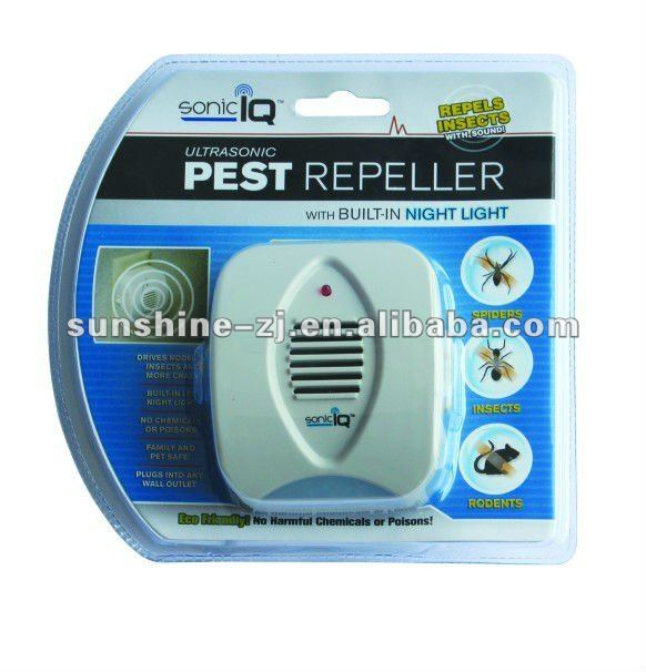 Ultrasonic Pest Repeller Sonic Mosquito Dispeller