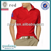 The new fashion 2014 summer men's short sleeve Polo shirtsmen Polo pure color cotton shirt SIZE S 3XL 4XL 5XL
