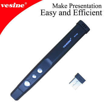 Vesine Red Laser Wireless Presenter Laser Pointer Remote Controller VP152