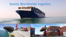 Ocean container freight FCL LCL sea shipping freight door to door delivery from china to Long Beach USA