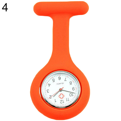 New Cute Silicone Nurse Watch Brooch Fob Pocket Tunic Quartz Movement Watch  N76Y smt 89
