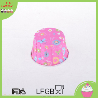 SGS certificated baking cup for cakes coated PET paper cupcake liners