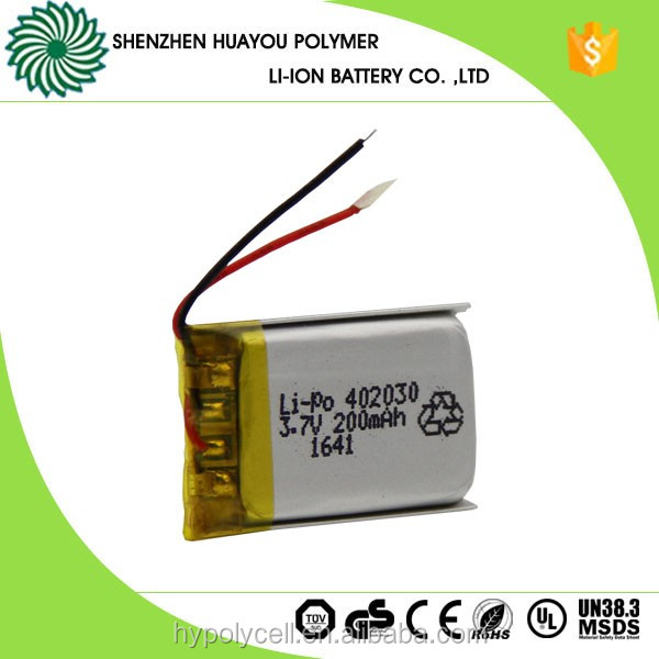 423450 700mAh Ultra 3.7v Li-ion Small Lithium Polymer Battery for Bluetooth Headset