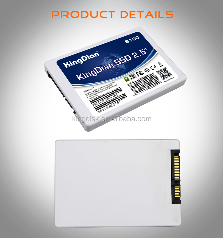 High quality KingDian 2.5 sata2 32gb SSD Solid State Hard Disk for computer