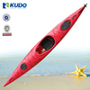 UV-Protected Sea Kayaking Single Kayak with foot-pedal system and rudder