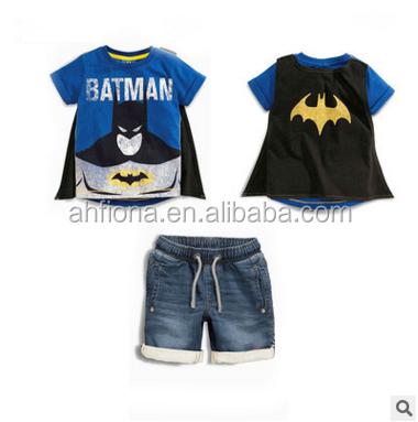 High quality wholesale children clothing sets fashion pattern boys