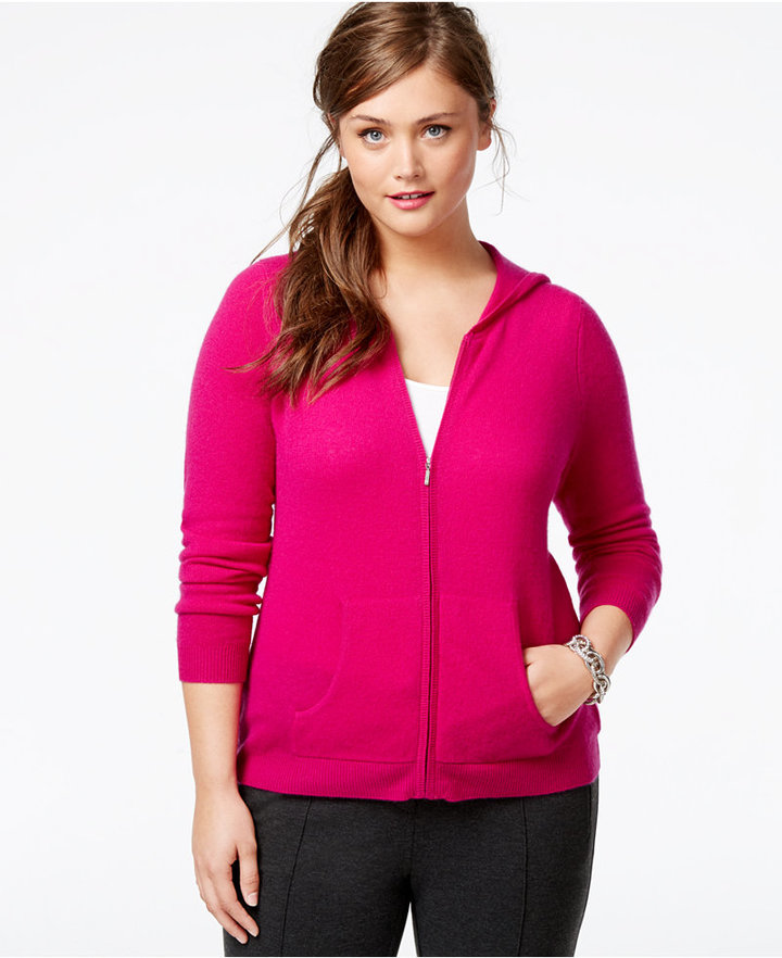 2017 plus size women cashmere hoodie