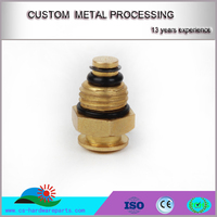 China Low price high quality OEM/ODM brass cnc custom turning parts