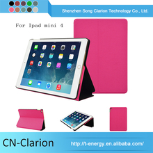 Ultra Thin Leather Smart Stand Case Cover For Ipad Mini 4 Case 8 Tablet Pc Leather Case
