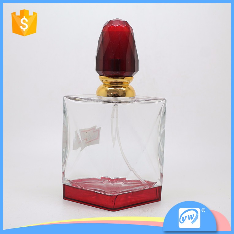 A1854-100ML k-resin cap hot sale transparent perfumes and fragrances bottle