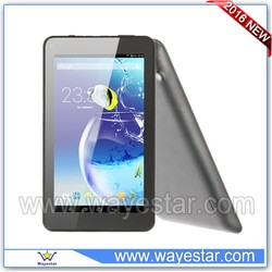 7 inch tablet with removable battery single sim slot quad core 2g phone tablet