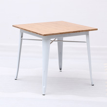 Best selling design table dining room table iron table for 4 seater