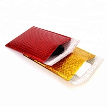 custom colorful aluminum foil mailer bag bubble envelope