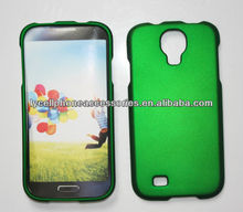 New Phone Case for USA Market Samsung i9500 Galaxy S4 Accessry Dark Green Rubberized Cover Case
