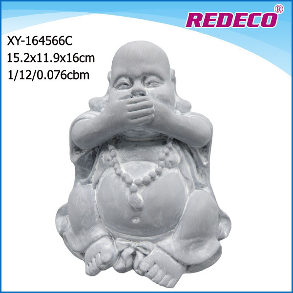custom handcraft resin laughing buddha for sale