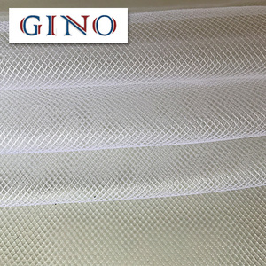 polyester spandex netting stretch tulle mesh fabric for wedding dress and lining