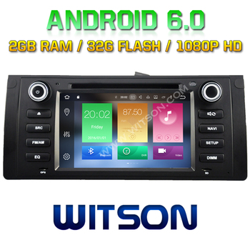 WITSON Octa-Core(Eight Core) Android 6.0 CAR DVD FOR BMW E39(1995-2003) 2G ROM 1080P TOUCH SCREEN 32GB ROM