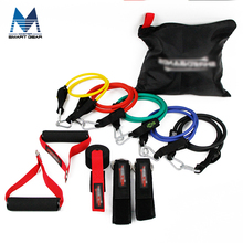 Foam Handles Customized Logo 11pcs Resistance Exercise Elastic Band