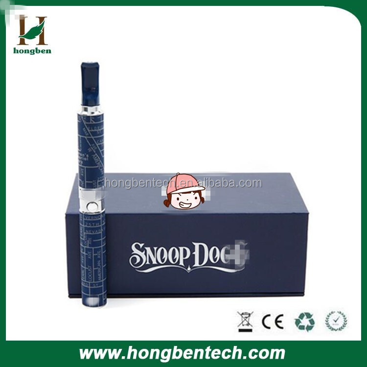 Wholesale competitive price dry herb vaporizer snoop dogg e-cigarette free sample