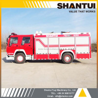 Water tender, SHANTUI foam tank fire fighting truck PM50H