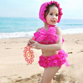 2017 new girls swimming designs beachwear swimwear bikini cute baby bikini