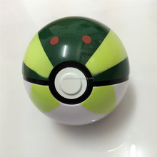 PM-919 China's new green digital elf ball pokemon ballchildren's toy