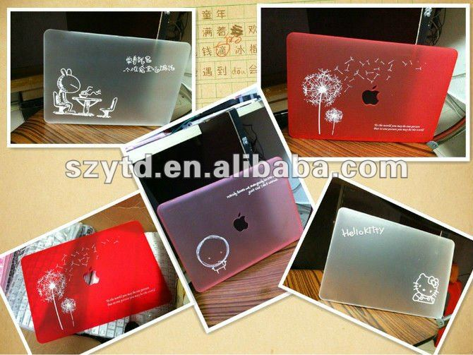 "PC fashion laptop cover for apple macbook pro/air 13"" sleeve"