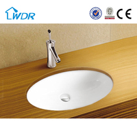 Ceramic wc toilet hand wash oval made in china basin price
