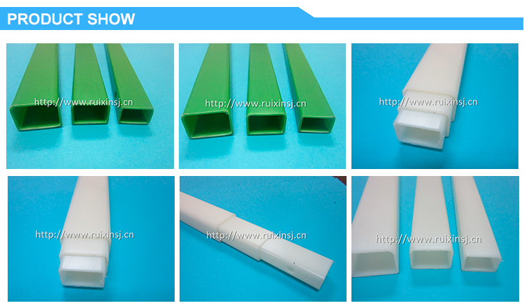 Rectangular plastic ABS tube 3 tubs in a set