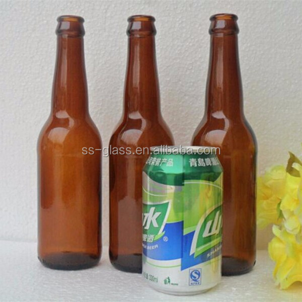 Ml Amber Glass Beer Bottle Indiviudal