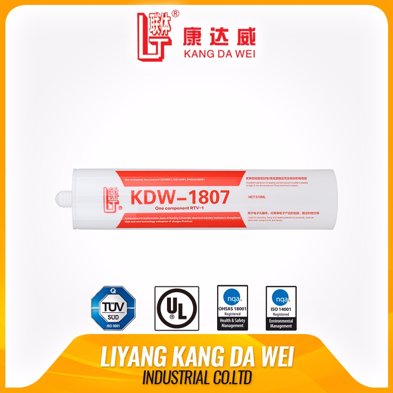 Electronics using silicone rubber adhesive sealant waterproof