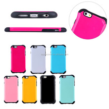 PC+Silicone 2 in 1 tyre design cover case for iPhone 6