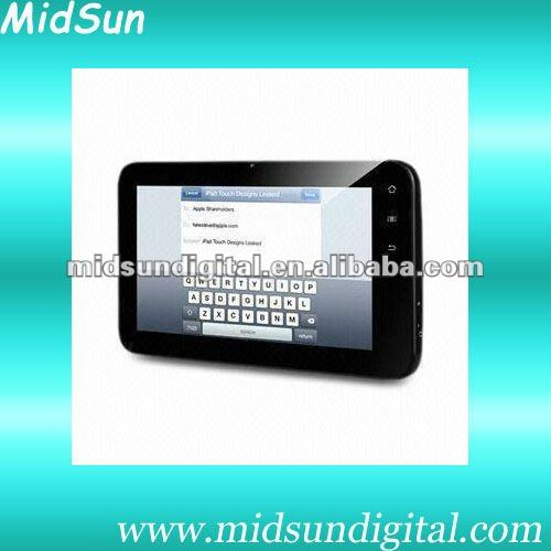 7 android tablet rj45 mid capacitance screen built in 3G GPS WIFI HDMI 1080P sim card slot GSM call phone