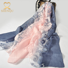 2017 fashion muslim malaysia hijab women hand embroidery scarf design Long cotton viscose scarves lace embroidery scarf