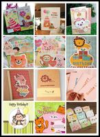 Cute and Lovely japanese greeting cards