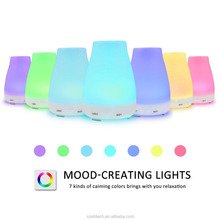 Portable innogear essential oil diffuser ultrasonic aroma diffuser urpower diffuser 100ml with color LED lights changing