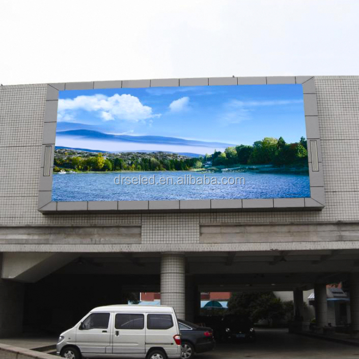 Outdoor high waterproof and high brightness led display <strong>P10</strong>