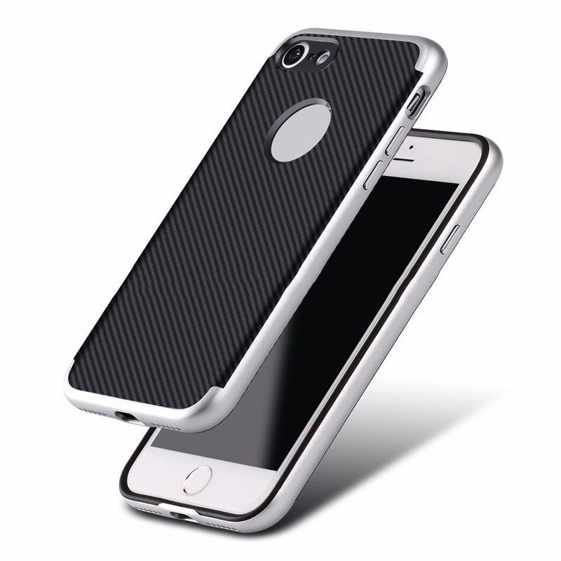 Electroplated slim armor case for iPhone 7