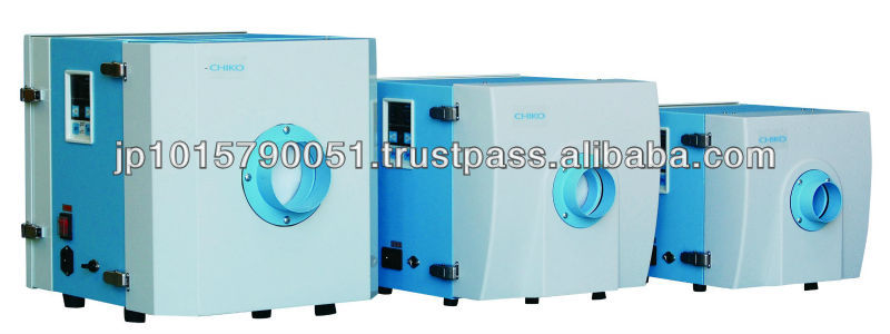 CHIKO AIRTEC CKU series dust extractor compact, light, silent,low pressure for an important airflow volume