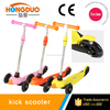 Hot selling High Quality Plastic 3 Wheels Baby Kick Scooter