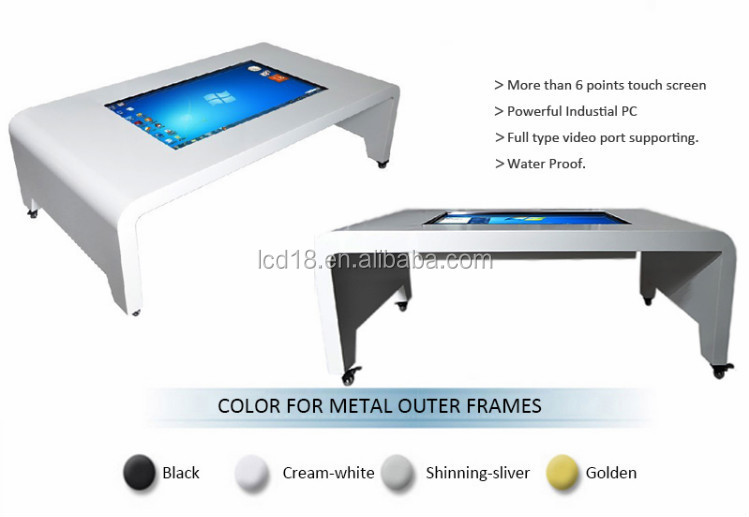 42 inch table style touch screen all in one PC Kiosk with i3 ( MAD-420BT)