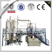 Used black engine oil recycling to diesel waste oil refinery machinery