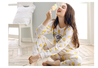 colorful low MOQ stock polyester and cotton formal girl pajama suit ladies sexy nighty design sleepwear homewear wholesale